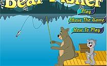 Играть онлайн Медведь-рыбак бесплатно