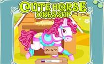 Играть онлайн Наряжаем лошадку бесплатно