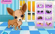 Играть онлайн Гламурная собачка бесплатно