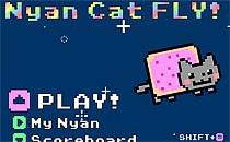 Играть онлайн Полет котенка бесплатно