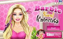Играть онлайн Причёска для Барби бесплатно