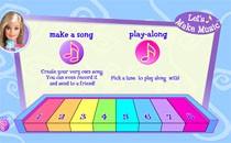 Играть онлайн Барби пианино бесплатно