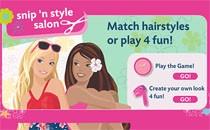 Играть онлайн Причёска Барби бесплатно