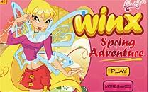 Играть онлайн Винкс весеннее приключение бесплатно