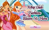 Играть онлайн Флора и Блум бесплатно