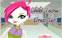Играть онлайн Чиби Винкс: Текна бесплатно