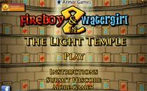 Играть онлайн Огонь и вода 2 в светлом храме бесплатно