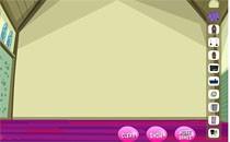Играть онлайн Монстер Хай: интерьер в классе бесплатно