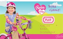 Играть онлайн Барби бродилка на велосипеде бесплатно