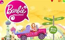 Играть онлайн Барби на машине бесплатно