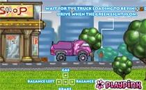 Играть онлайн Барби на грузовике бесплатно