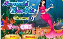 Играть онлайн Барби русалка бесплатно