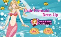 Играть онлайн Одеваем Барби-русалку бесплатно