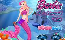 Играть онлайн Барби русалка переодевалка бесплатно