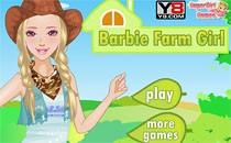Играть онлайн Одеваем Барби на ферму бесплатно