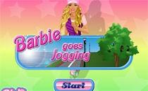 Играть онлайн Барби на утренней пробежке бесплатно