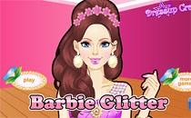 Играть онлайн Стильный макияж Барби бесплатно