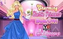 Играть онлайн Макияж для Барби-принцессы бесплатно