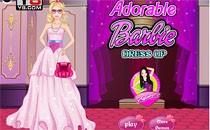 Играть онлайн Макияж и прическа Барби бесплатно
