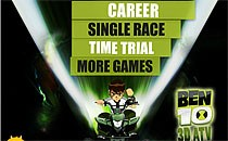 Играть онлайн Бен 10 3D гонки бесплатно