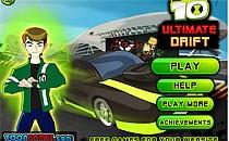 Играть онлайн Бен 10: Потрясающий дрифтинг бесплатно