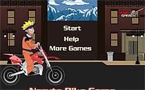 Играть онлайн Наруто - велосипед бесплатно