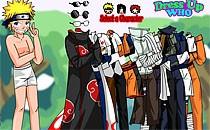 Играть онлайн Одень Наруто и друзей бесплатно