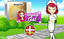 Играть онлайн Братц работает в больнице бесплатно