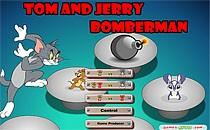 Играть онлайн Том и Джерри Бомберы : Взрывная игра бесплатно