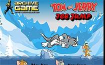 Играть онлайн Том и Джерри ледяные прыжки бесплатно
