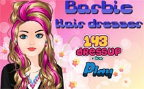 Играть онлайн Прическа Барби салон красоты бесплатно