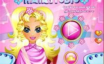 Играть онлайн Барби в парикмахерской бесплатно