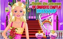 Играть онлайн Барби принцесса Хрустального замка бесплатно