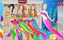Играть онлайн Барби жемчужная русалка бесплатно