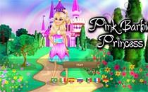 Играть онлайн Розовая Барби принцесса бесплатно