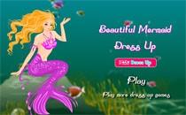 Играть онлайн Одеваем Барби русалочку бесплатно
