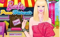 Играть онлайн Барби прическа на выпускной бесплатно