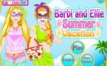 Играть онлайн Барби и Элли на каникулах бесплатно