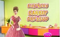 Играть онлайн Одеваем Барби и делаем прическу бесплатно