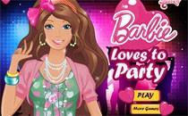 Играть онлайн Барби перед вечеринкой бесплатно