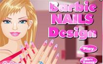Играть онлайн Красивый маникюр Барби бесплатно