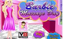 Играть онлайн Барби в массажном салоне бесплатно