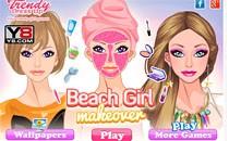 Играть онлайн Барби собирается на пляж бесплатно