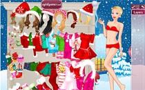 Играть онлайн Барби у Санта Клауса бесплатно