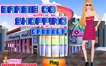 Играть онлайн Барби на шопинге бесплатно