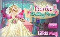 Играть онлайн Свадебный номер Барби бесплатно