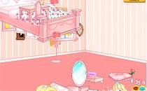 Играть онлайн Интерьер комнаты Барби бесплатно