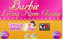 Играть онлайн Уборка в комнате Барби бесплатно