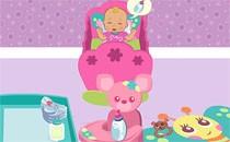 Играть онлайн Барби няня бесплатно