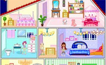 Играть онлайн Дизайн кукольного домика Винкс бесплатно